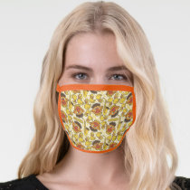 Ernie and Rubber Duckie Pattern Face Mask