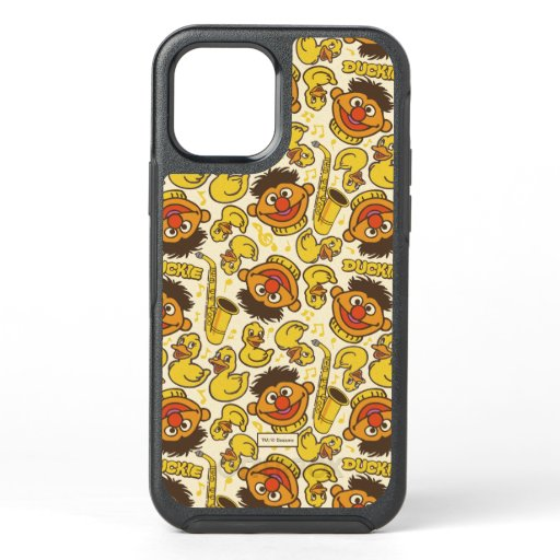 Ernie and Rubber Duckie Pattern OtterBox Symmetry iPhone 12 Case