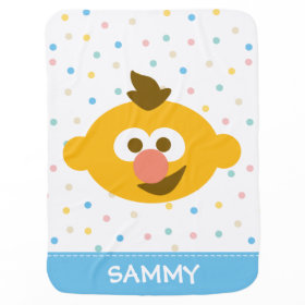 Ernie Baby Face Swaddle Blanket