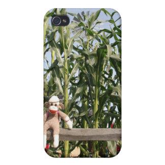 Ernie el caso del iPhone 4 del mono del calcetín iPhone 4 Cobertura