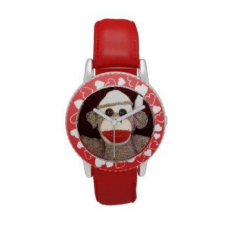 Ernie el reloj del mono del calcetín