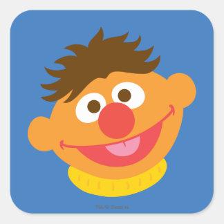 Ernie Face Square Sticker
