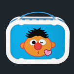 """Ernie Face Throwing a Kiss Lunch Box<br><div class=""""desc"""">Express yourself with this Sesame Street Emoji       This item is recommended for ages 2 . &#169;  2014 Sesame Workshop. www.sesamestreet.org</div>"""