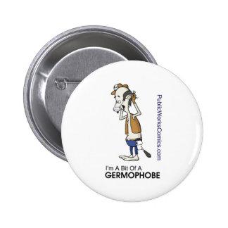 Ernie Germaphobe Button