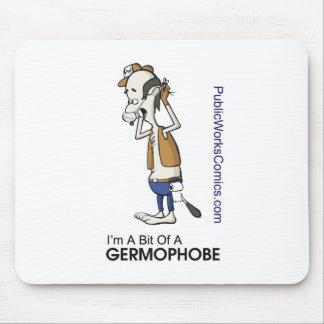 Ernie Germaphobe Mouse Pad