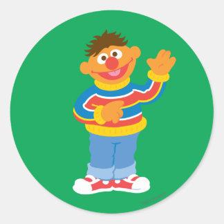 Ernie Graphic Classic Round Sticker