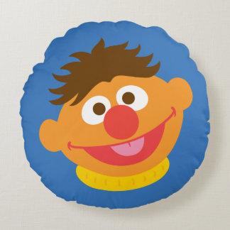 Ernie hace frente cojín redondo