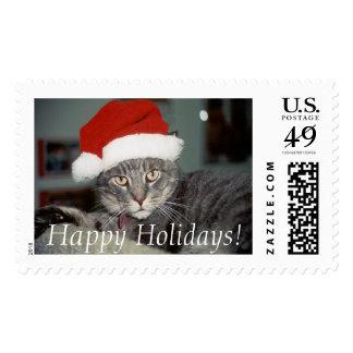 Ernie, Happy Holidays! Postage