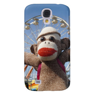 Ernie la caja de la mota del iPhone 3 del mono del