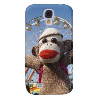 Ernie la caja de la mota del iPhone 3 del mono del Funda Para Galaxy S4