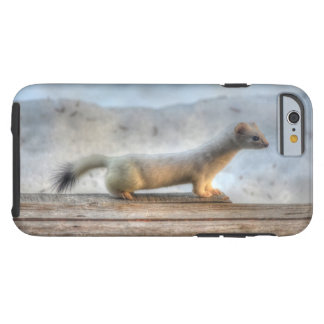 Ernie la fauna resuelta del armiño (comadreja) funda de iPhone 6 tough
