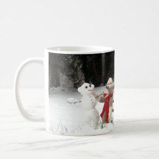 Ernie la taza de la diversión de la nieve del invi