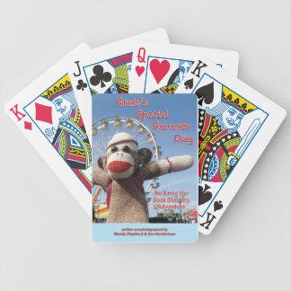 Ernie los naipes del libro del mono del calcetín baraja cartas de poker
