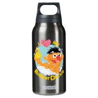 Ernie Loves Duckie Insulated Water Bottle