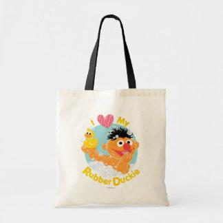 Ernie Loves Duckie Tote Bag