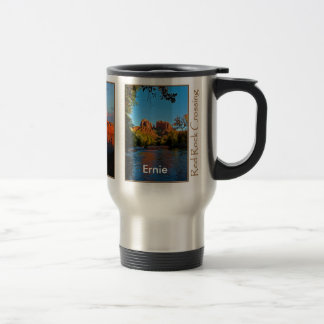 Ernie on Red Rock Crossing Mug