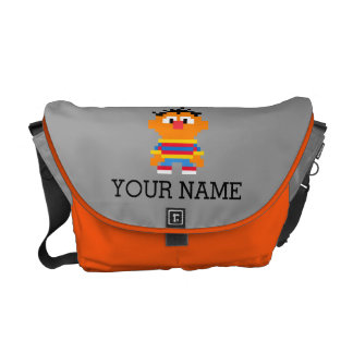 Ernie Pixel Art | Add Your Name Messenger Bag