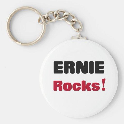 Ernie Rocks Keychain