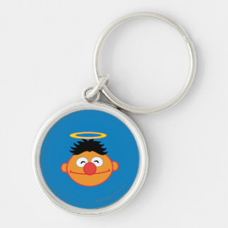 Ernie Smiling Face with Halo Keychain