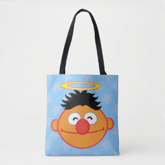 Ernie Smiling Face with Halo Tote Bag