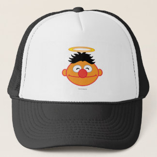 Ernie Smiling Face with Halo Trucker Hat