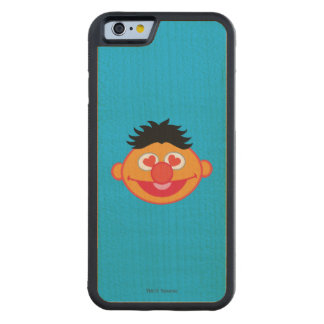 Ernie Smiling Face with Heart-Shaped Eyes Carved Maple iPhone 6 Bumper Case