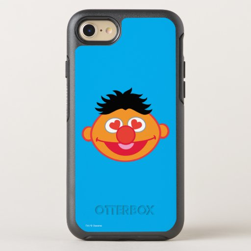 Ernie Smiling Face with Heart-Shaped Eyes OtterBox Symmetry iPhone SE/8/7 Case