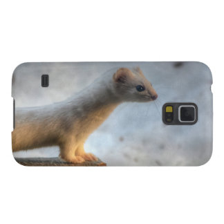 Ernie the Determined Ermine (Weasel) Wildlife Galaxy S5 Cover