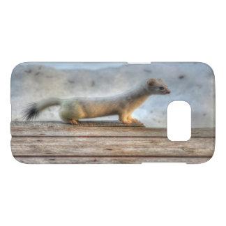 Ernie the Determined Ermine (Weasel) Wildlife Samsung Galaxy S7 Case