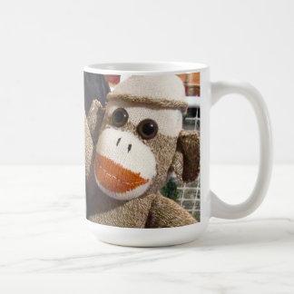 Ernie the Sock Monkey and Chihuahua Mug