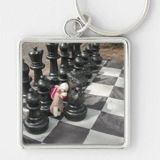 Ernie the Sock Monkey Chess Keychain
