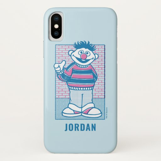 Ernie | U Mad, Bert? iPhone X Case