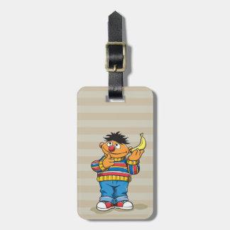 Ernie's Bananas Luggage Tag