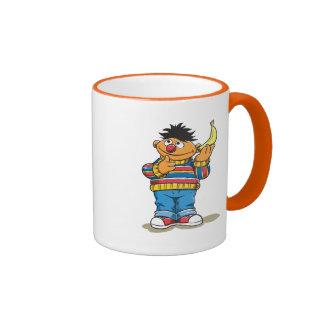 Ernie's Bananas Ringer Coffee Mug