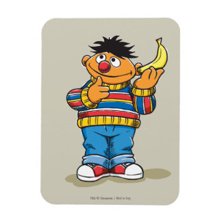Ernie's Bananas Rectangular Photo Magnet