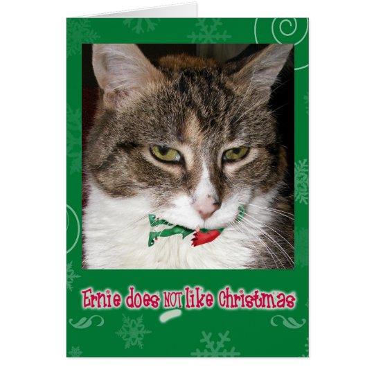 ernie's christmas card