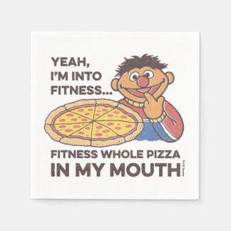 ErnieYeah, I'm into Fitness Napkin