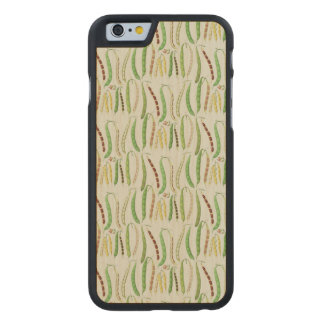 Ernst Benary's Bean Varieties Carved Maple iPhone 6 Case