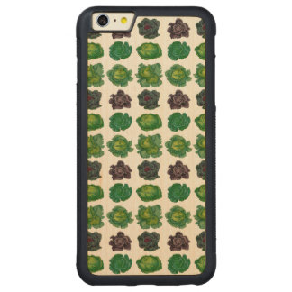 Ernst Benary's Cabbage Varieties Carved Maple iPhone 6 Plus Bumper Case