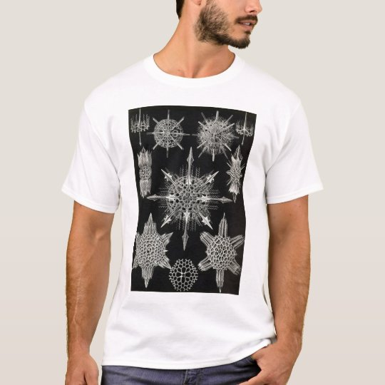 Ernst Haeckel - Acanthophracta Tshirt