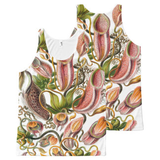 Ernst Haeckel Art Print:flowers All-Over-Print Tank Top