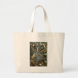 Ernst Haeckel - Batrachia Large Tote Bag