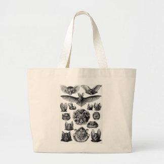 Ernst Haeckel Bats (Chiroptera) Large Tote Bag