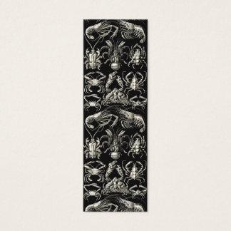 Ernst Haeckel Decapoda Mini Business Card