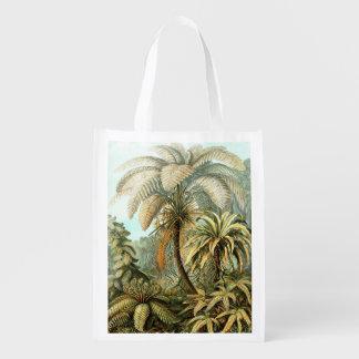 Ernst Haeckel Filicinae Reusable Grocery Bag