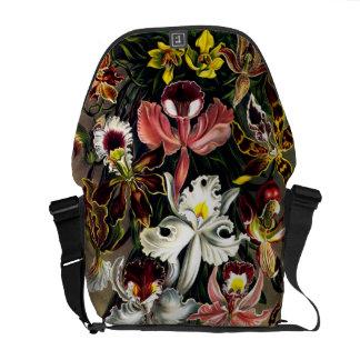 Ernst Haeckel Orchids messenger bag