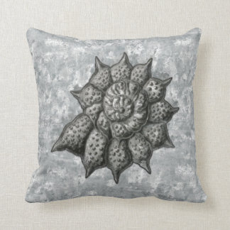 Ernst Haeckel Radiolaria Shell 1 Pillow
