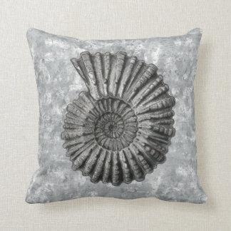 Ernst Haeckel Radiolaria Shell 3 Throw Pillow