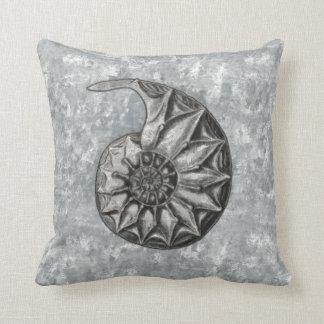 Ernst Haeckel Radiolaria Shell 4 Throw Pillow