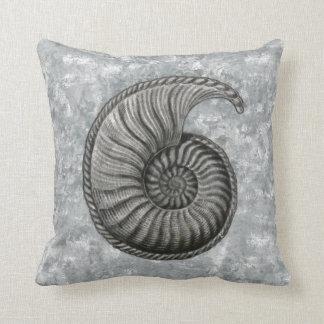 Ernst Haeckel Radiolaria Shell 5 Throw Pillow